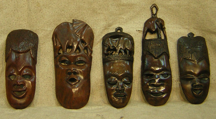 Maski afrykańskie - symbolika