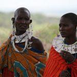 Maski afrykańskie w plemieniu Masajów