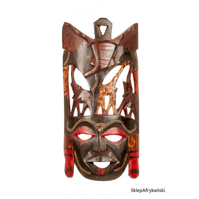Malowana maska afrykańska